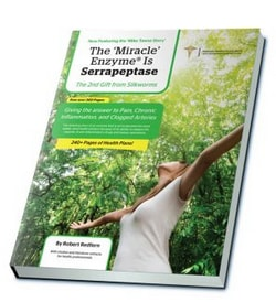 The Miracle Enzyme is Serrapeptase book