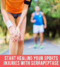 Heal Injuries With Serrapeptase