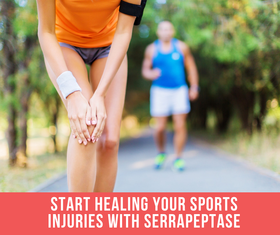 Start Healing Your Sports Injuries With Serrapeptase
