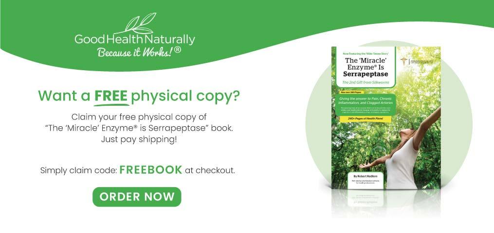 Free Serrapeptase ebook